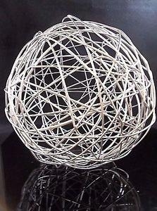Modern Contemporary Orb Sphere Ball Accent Decor Filler Decorative Sculpture 553