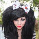 "Valentine's Day SALE 5""x7"" Mickey n Minnie Vintage Comic Hair Bow w/snapclip"