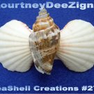 Beach Seashells French Style Barrette #270 Uniqie Hair Shirt Scarf Accessories