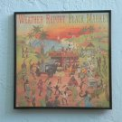 Framed Record Album  Cover - Weather Report -  Black Market  0026