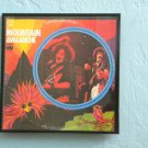 Framed Vintage Record Album Cover - Mountain - Avalanche  0027