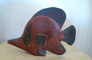 Wood Carving - Fish