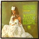 Framed Vintage Record Album  - Whipped Cream and Other Delights  -  Herb Alpert  0037