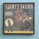 Framed Vintage Record Album - The Best of James Brown  0041