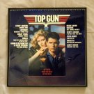 Framed Record Album  Cover - Top Gun the original motion picture sound track  0059