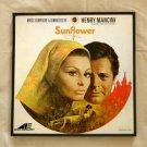 Framed Record Album Cover - Sunflower  orginal sound track of movie    Henry Mancini  0068