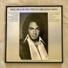 Framed Record Album Covers - His 12 Greatest Hits - Neil Diamond  0069