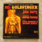 Framed Record Album Cover - James Bond -  Goldfinger orginal motion picture sound track  0073