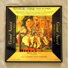 Knuckles Otoole Goes To Paris - Framed Vintage Record Album Cover – 0101