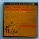 My Fair Lady - Rex Harrison and Julie Andrews - Framed Vintage Record Album Cover – 0113
