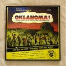 Oklahoma - Original New York Production - Framed Vintage Record Album Cover – 0104