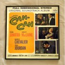 Cole Porter's Can Can with Frank Sinatra and Shirley MacLaine - Framed Record Album Cover – 0112