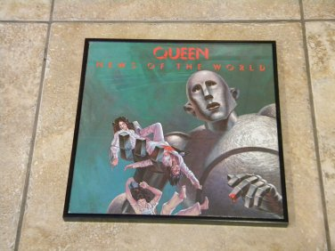 News of the World - Queen  - Framed Vintage Record Album Cover � 0135