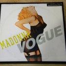 Vogue - Madonna - Framed Vintage Maxi-single Cover – 0146
