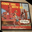 Come Sail With Me - Framed Vintage Record Album Cover – 0158