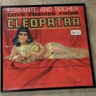 Love Themes From Cleopatra - Ferrante & Teicher - Framed Vintage Record Album Cover – 0179