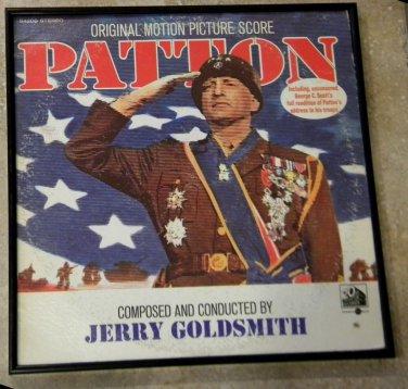 Patton -  Original Motion Picture Score - Framed Vintage Record Album Cover � 0187