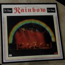 On Stage - Rainbow - Framed Vintage Record Album Cover – 0190