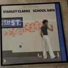 School Days -Stanley Clarke - Framed Vintage Record Album Cover – 0198