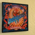 Back For The Attack - Dokken - Framed Vintage Record Album Cover – 0210