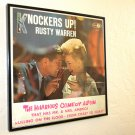 Knockers Up - Rusty Warren - Framed Vintage Record Album Cover – 0216
