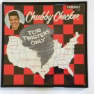 For Twister's Only - Chubby Checker - Framed Vintage Record Album Cover – 0220