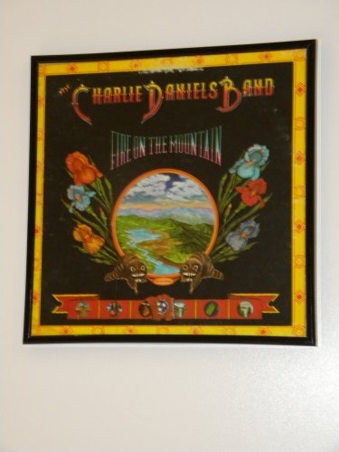 The Charlie Daniels Band - Fire On The Mountain - Framed Vintage Record Album Cover � 0232