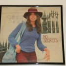 Carly Simon - No Secrets - Framed Vintage Record Album Cover – 0236