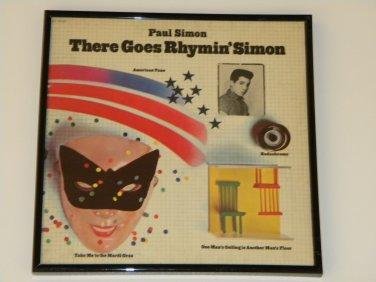 Paul Simon - There Goes Rhymin' Simon - Framed Vintage Record Album Cover � 0243