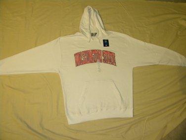 Washington State XL - New J. America Sweatshirt With Hood