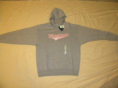 University of Montana L - New J. America Sweatshirt With Hood