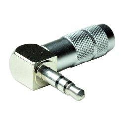 Oyaide P-3.5 SRL 3.5mm Stereo Mini Plug 90 degree Angled Jack Plug