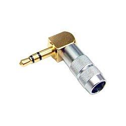 Oyaide P-3.5 GL 3.5mm Stereo Mini Plug 90 degree Angled Jack Plug