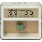 Nagaoka Diamond Stylus G99-33 for Mitsubishi 3D-33M