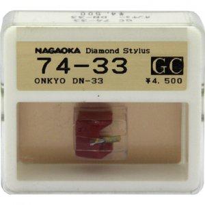 Nagaoka Diamond Stylus GC74-33 for Onkyo DN-33