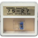 Nagaoka Diamond Stylus G75-27 for Sanyo ST-27D