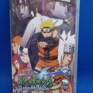 PSP Naruto Ultimate Ninja Heroes 3 Naruto Shippuden JPN Ver Great Condition