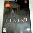 PS2 Siren 2 JPN VER Used Excellent Condition