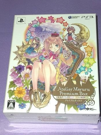 PS3 Atelier Meruru The Alchemist of Arland 3 JPN Ver Premium Box Crystal Weight
