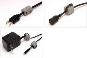 Acoustic Revive FCS-8 Noise Filter for Cord Cable 8 pcs Set