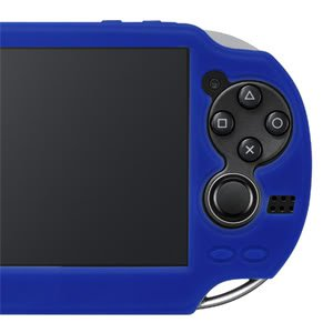 PS Vita Official Licenced Silicone Jacket Case Hori Black PlayStation Vita PSV