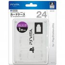 PS Vita Official Licenced Card Case for 24 Cards Hori White