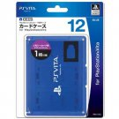 PS Vita Official Licenced Card Case for 12 Cards Hori Blue