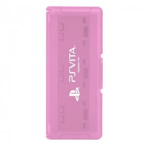 PS Vita Official Licenced Card Case for 6 Cards Hori Pink