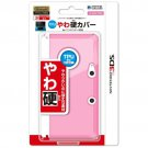 Nintendo 3DS Official Licensed TPU Soft Solid Cover Jacket Clear Pink