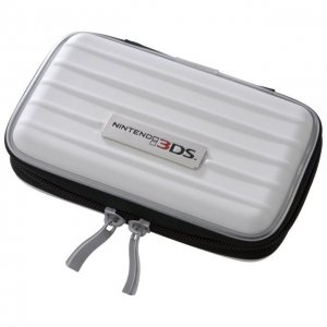 Nintendo 3DS Official Licensed EVA Semi Hard Case 3 Card Pockets White