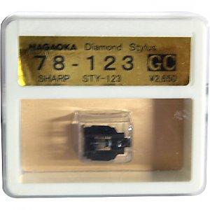 Nagaoka Diamond Stylus GC78-123 for Sharp STY-123