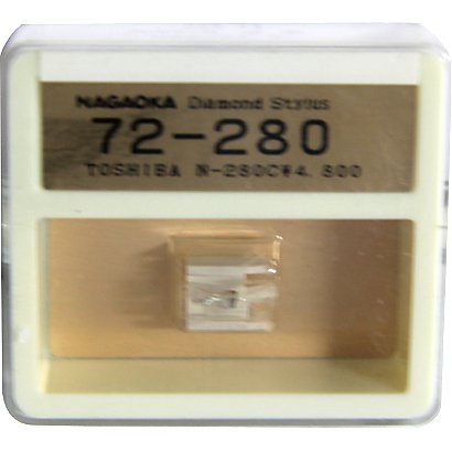 Nagaoka Diamond Stylus G72-280 for Toshiba N-280C*4