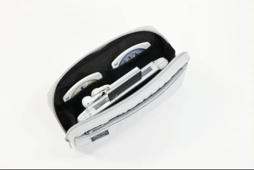 PSP PlayStation Portable SONY SCE Genuine Carry Bag Pouch Spacy Silver PS VIta