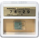 Nagaoka Diamond Stylus G74-29 for Onkyo DN-29 & CP-55A